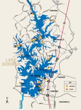 Lake Norman Map